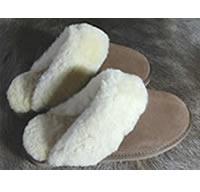 <b>Pantoffelslipper - bruin</b>