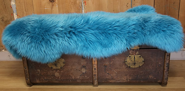 Knallend turquoise