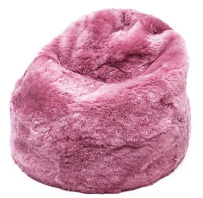 Zitzak: roze, kortharig