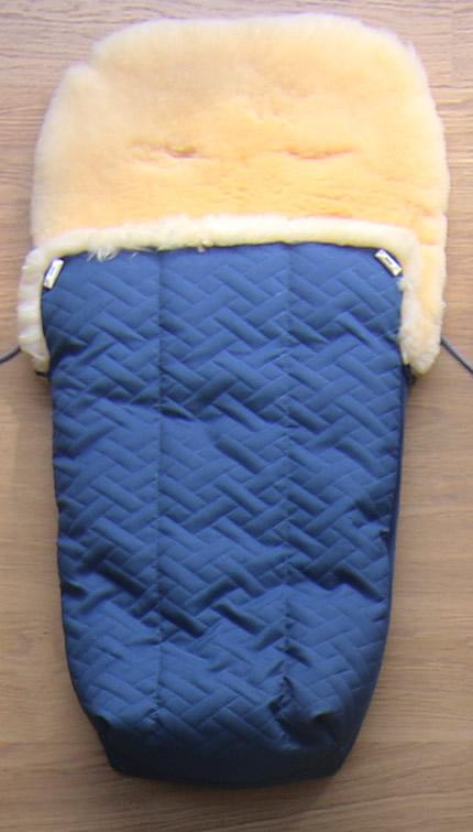 Voetenzak: kobaltblauw